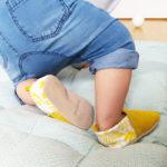 chaussons bébé cuir souple fabrication france