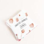 lot lingettes lavable coton x 5 démaquillant zéro déchet made in france kapoune nantes hortensia