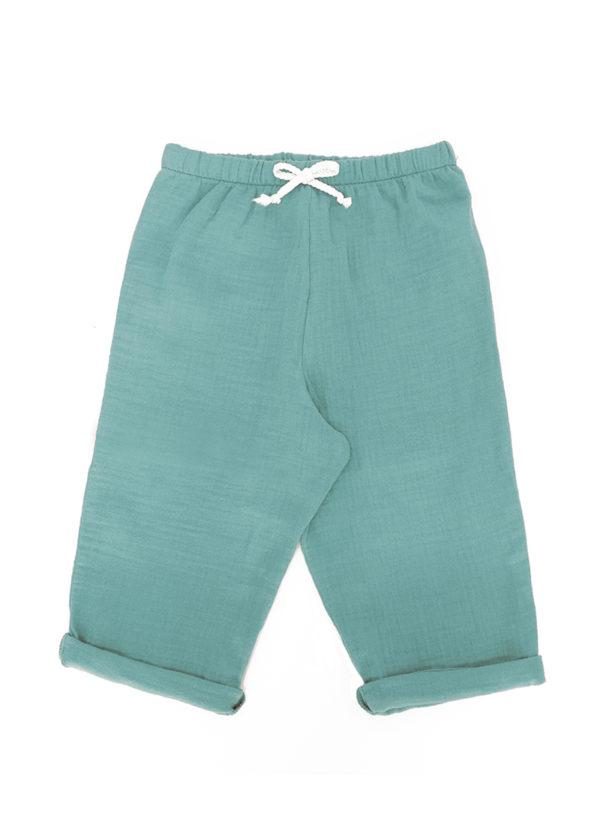 pantalon bebe en coton bio