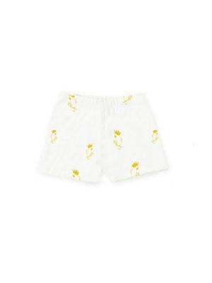 short pour bebe coloré jaune