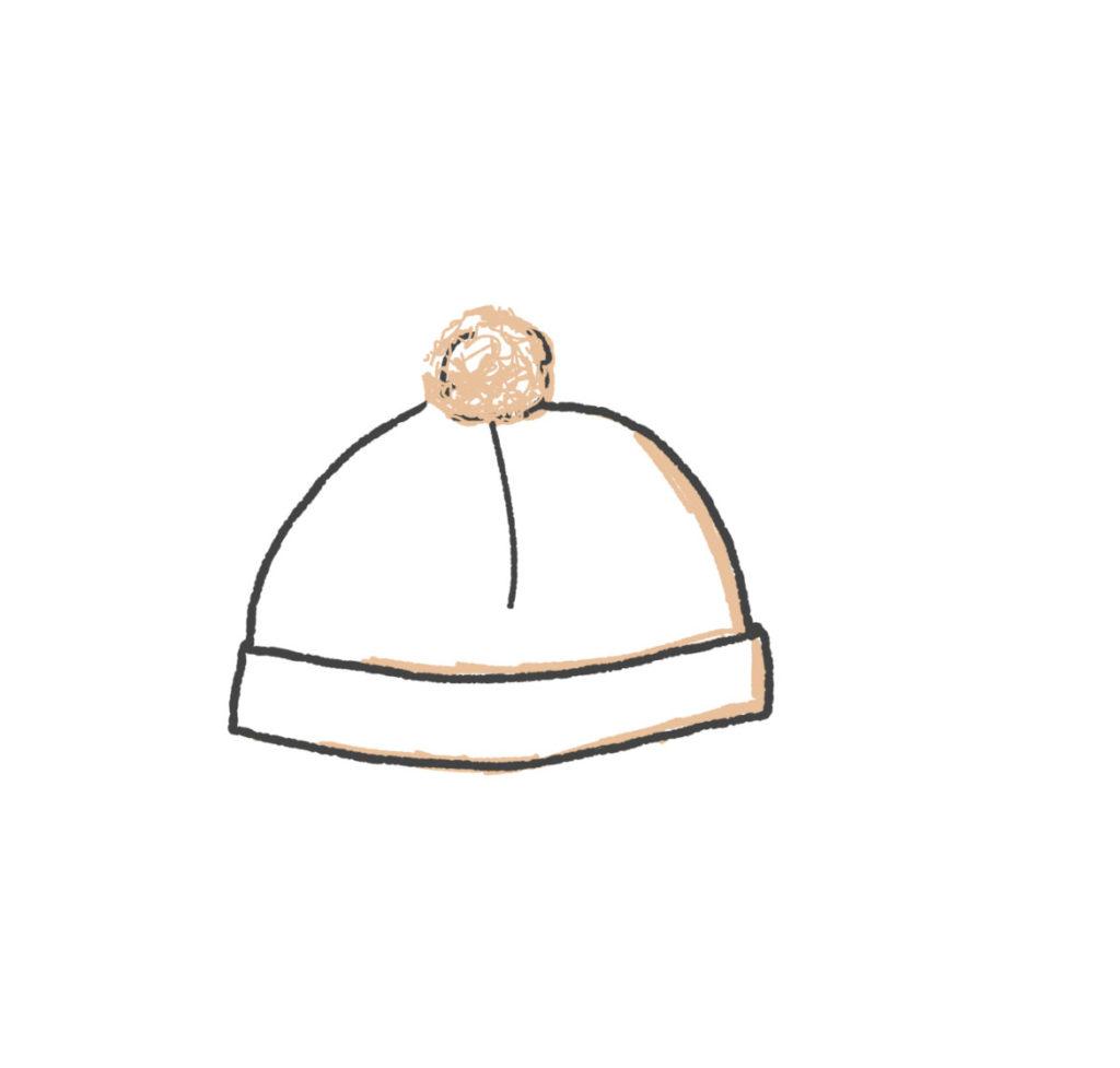 Dessin de bonnet