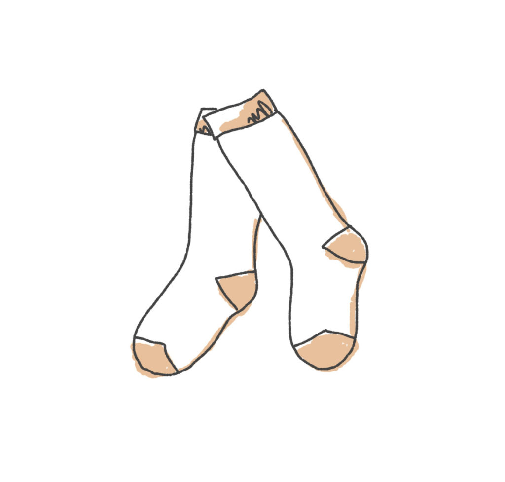 Dessin de chaussettes