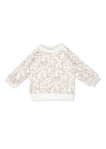 sweat bébé enfant coton bio hiver made in france kapoune