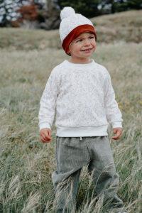 sweat bébé enfant made in france kapoune unisexe vêtements bébé mixte