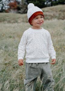 pantalon bébé velours kaki coton bio