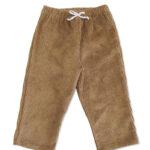 pantalon velours bébé hiver made in france coton bio kapoune camel