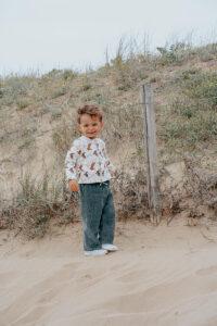vêtement bébé gilet enfant made in france coton bio kapoune