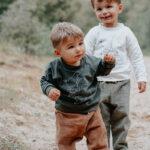 sweat enfant bébé kaki made in france coton bio