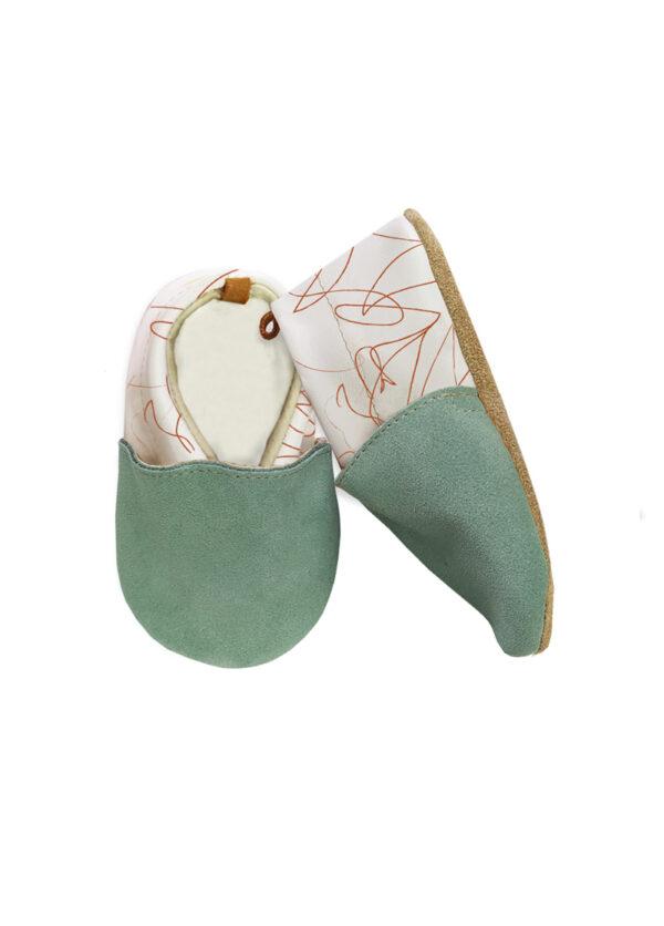 Chaussons-bird-menthe