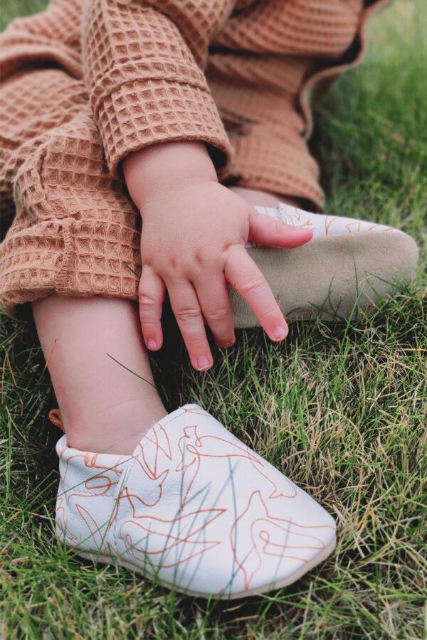 chaussons bebe imprimés