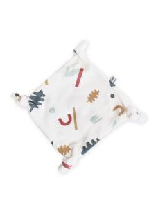 doudou bébé plat cadeau naissance coton bio made in france