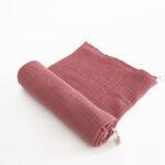 maxi lange marsala coton bio made in france