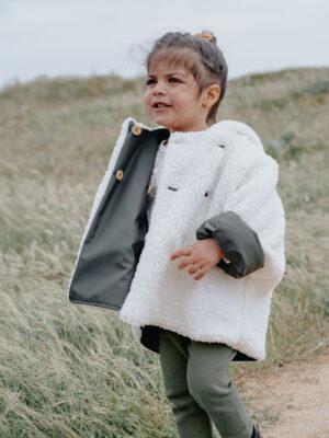 manteaux réversible imperméable coton bio bébé enfant
