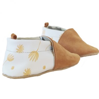 chaussons hortensia camel